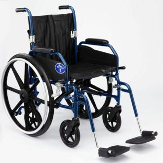 Medline Hybrid 2 Transforming Manual To Transport Wheelchair ...