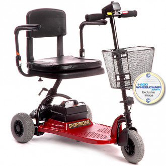 shoprider echo 3 wheel mobility scooter 1800wheelchair com rh 1800wheelchair com Shoprider Echo 3 Scooter Parts Shoprider Power Chair Batteries